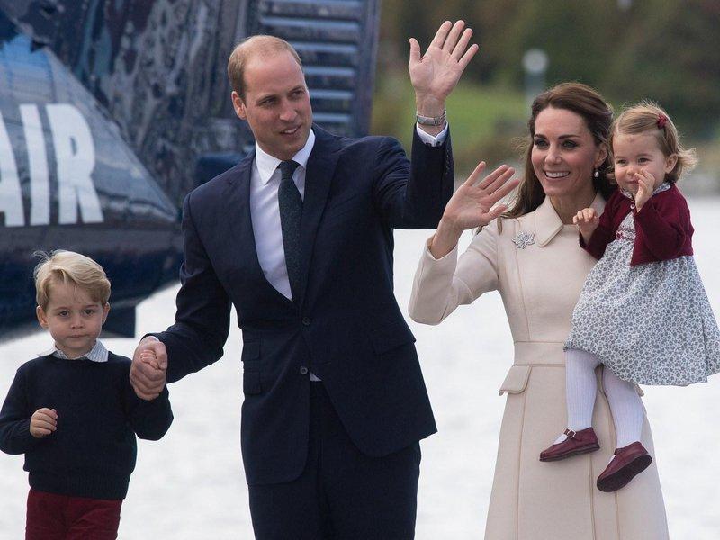 pangeran william george gandeng