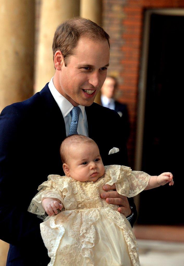pangeran william george pembaptisan