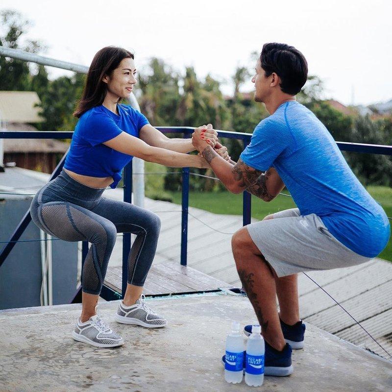 Image result for Jennifer dan Irfan Bachdim olahraga