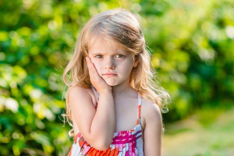 gejala sakit gigi pada anak