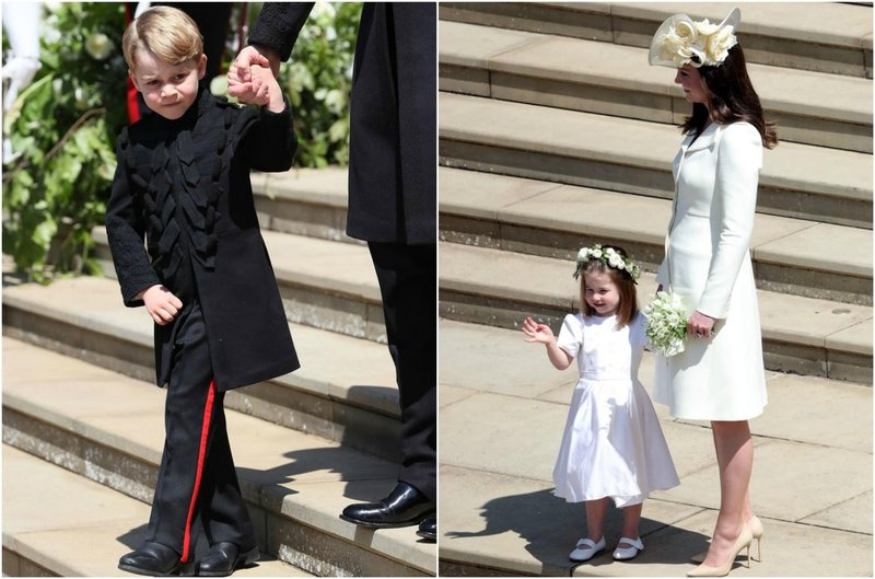 pernikahan pangeran harry george charlotte