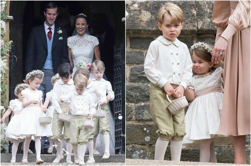 pernikahan pippa middleton george charlotte