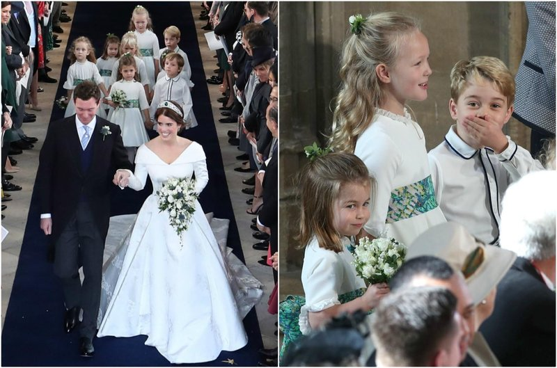 pernikahan putri eugenie george charlotte