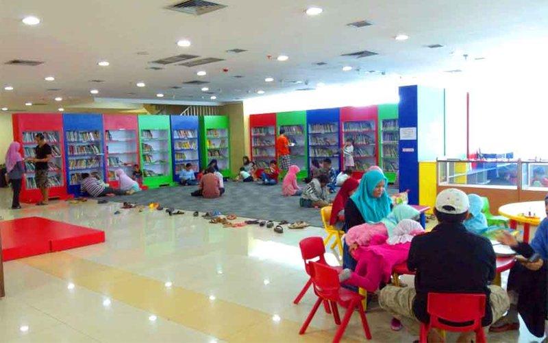 perpustakaan anak, quality time bersama anak