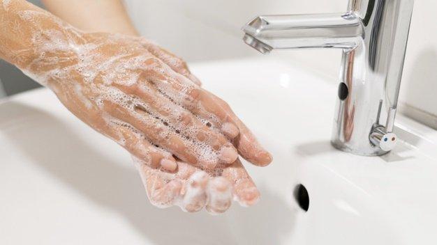 Cegah infeksi dengan cuci tangan