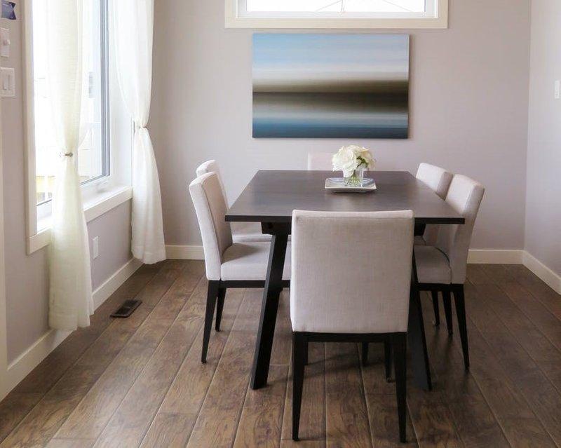 ide desain meja makan minimalis