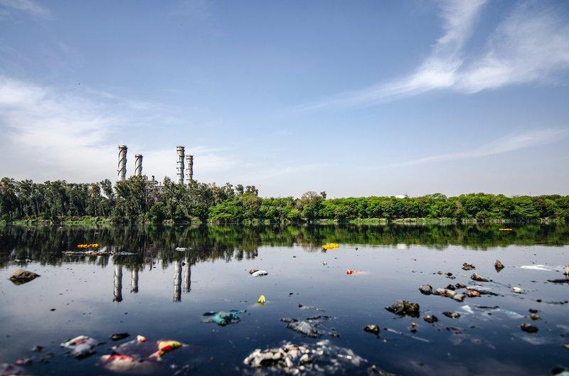 pencemaran air tanda lingkungan tidak sehat