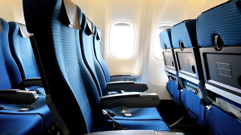tempat duduk pesawat