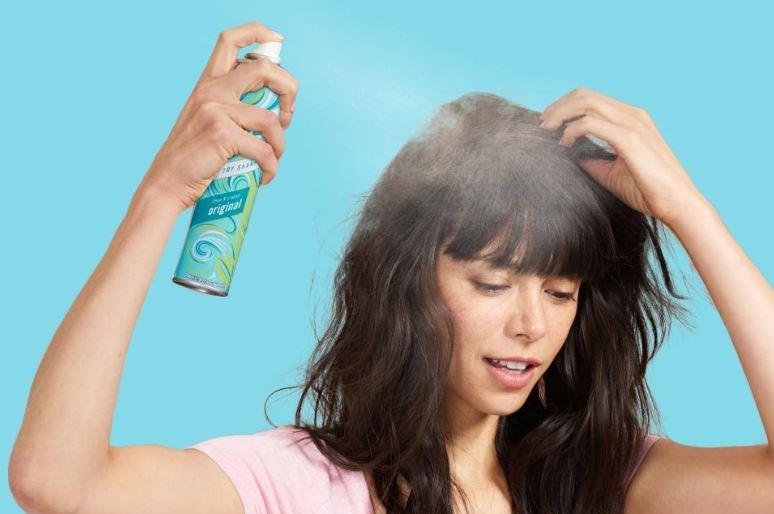 menggunakan dry shampo saat hamil