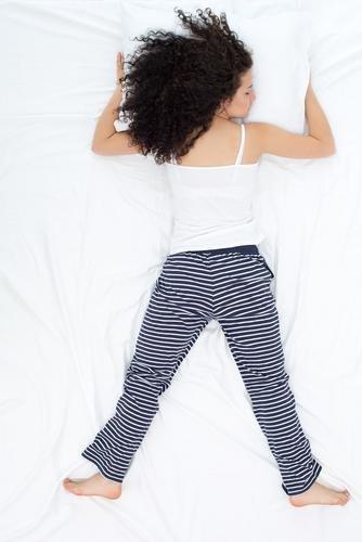 posisi tidur freefaller