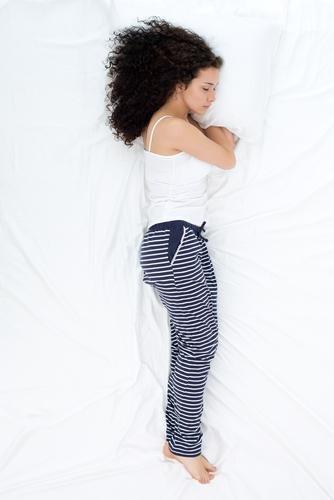 posisi tidur log