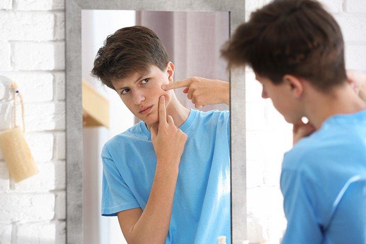 masa puber, bau badan anak, deodoran