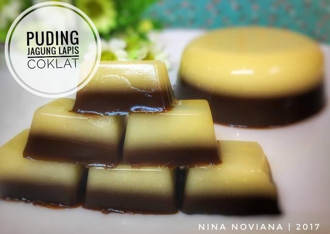 puding-jagung-lapis-coklat