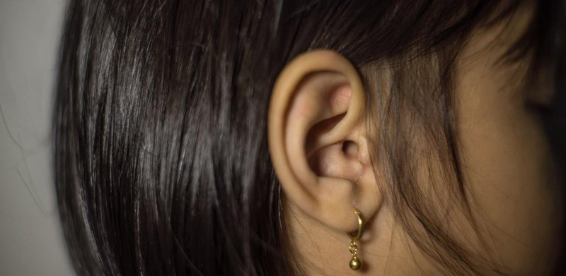 pus leaking from the ear