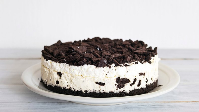 Resep Oreo Cheese Cake Ice Cream