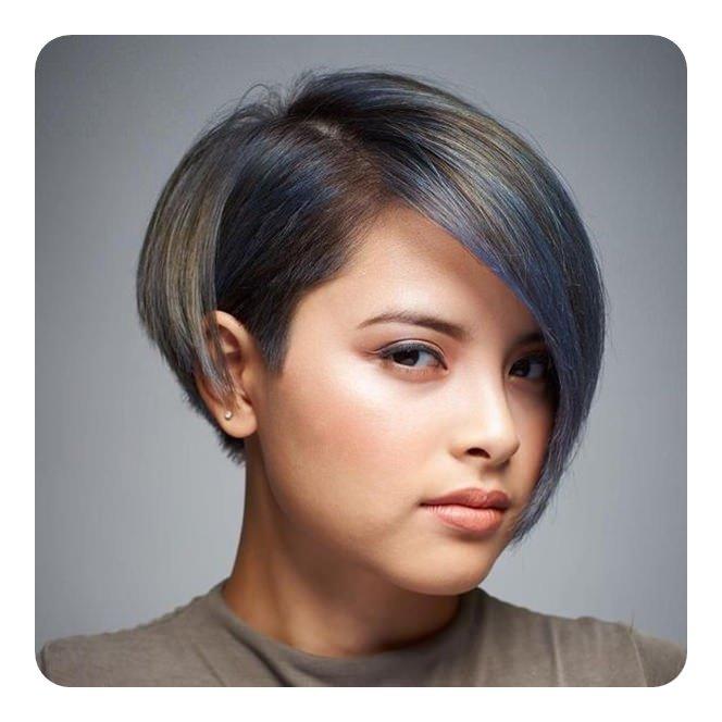 rambut pendek untuk wajah bulat