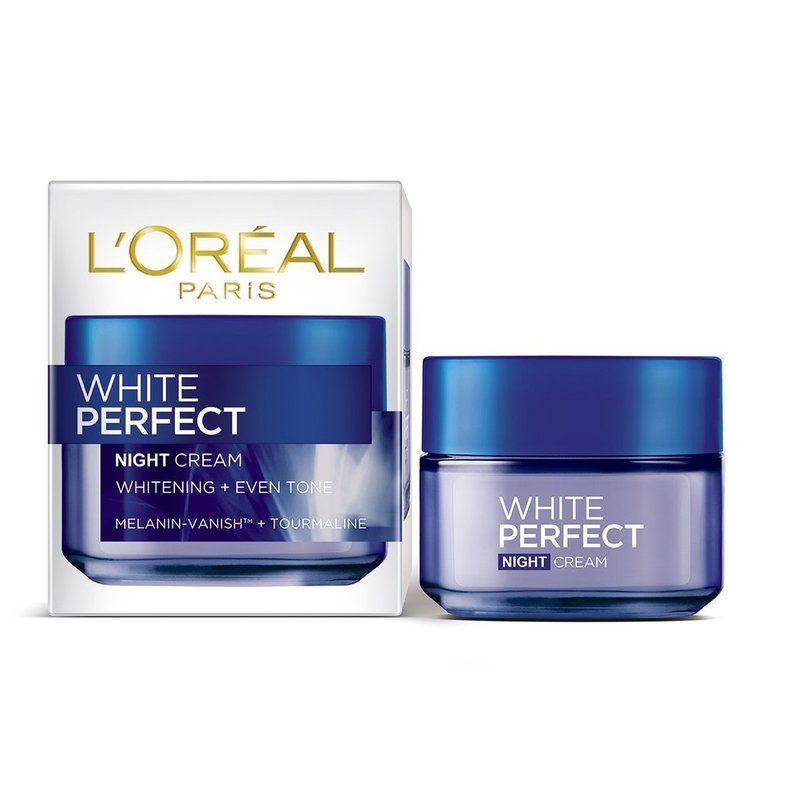 rekomendasi night cream-L'Oreal White Perfect Night Cream.jpg