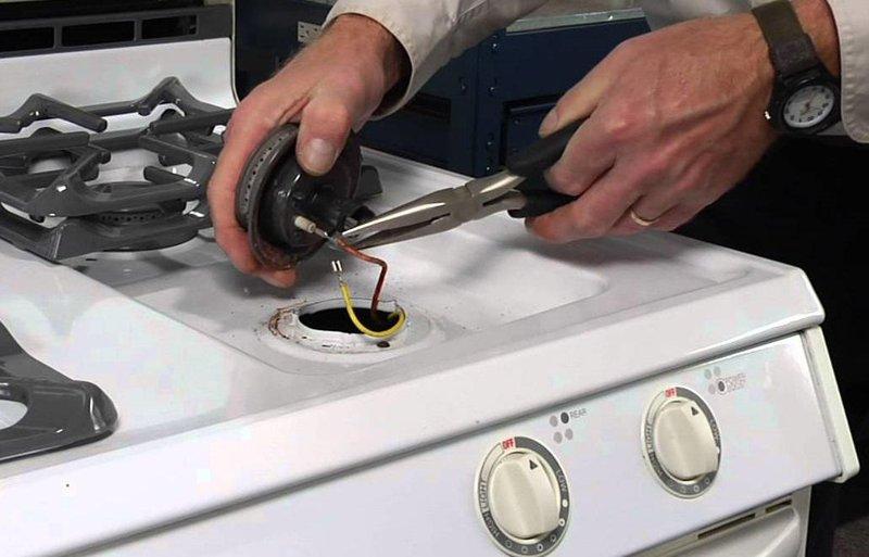 repairing of gas