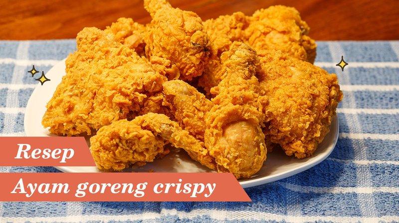 resep ayam goreng crispy ala restoran cepat saji hero