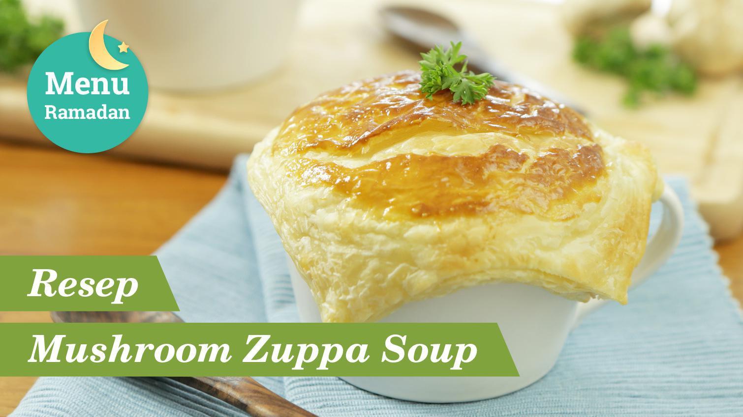 Resep Mudah Mushroom Zuppa Soup Untuk Buka Puasa Berbagi Tips