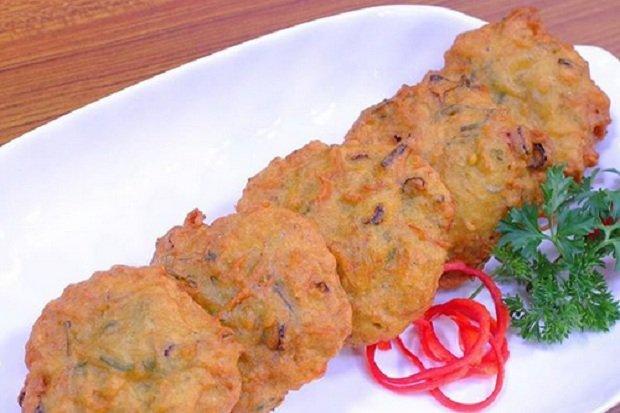Perkedel nike adalah perkedel dari ikan nike khas Gorontalo