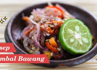 7 Savory Spicy Onion Sambal Recipes, Let's Make it at Home!