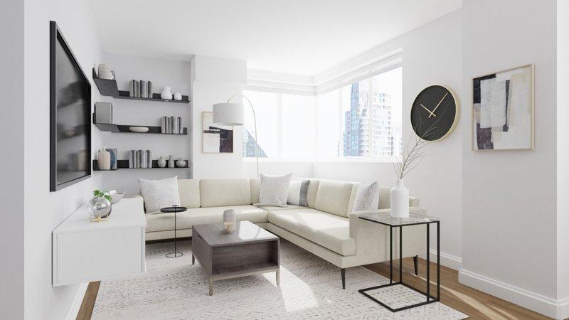 Penyimpanan rumah minimalis