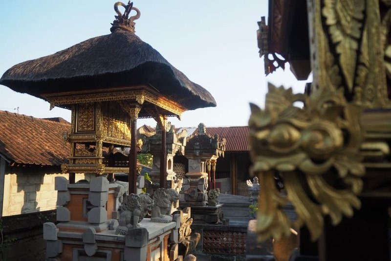 rumah adat bali - sanggah