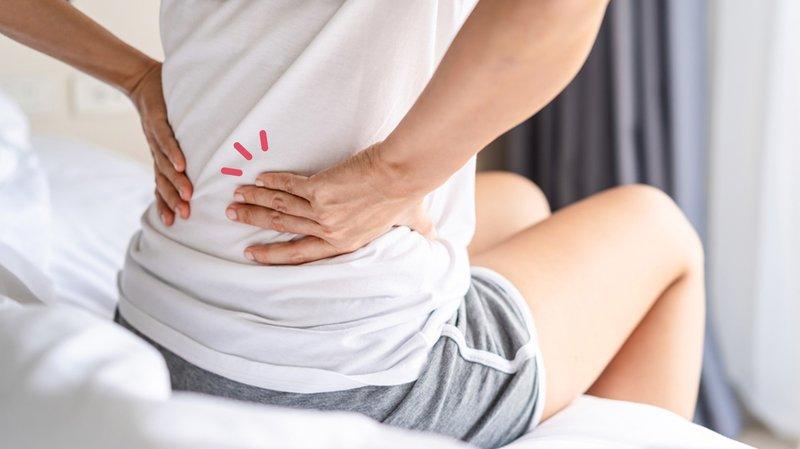 sakit punggung tengah