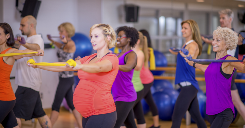 aerobik untuk ibu hamil