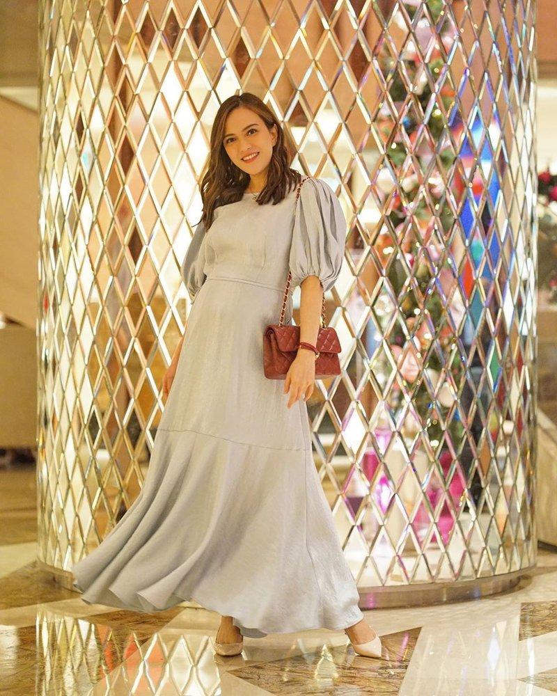 fashion kehamilan shandy aulia