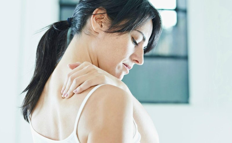 shoulder upper back pain