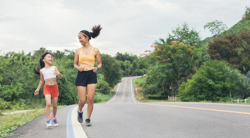 manfaat senan aerobik-aman untuk anak