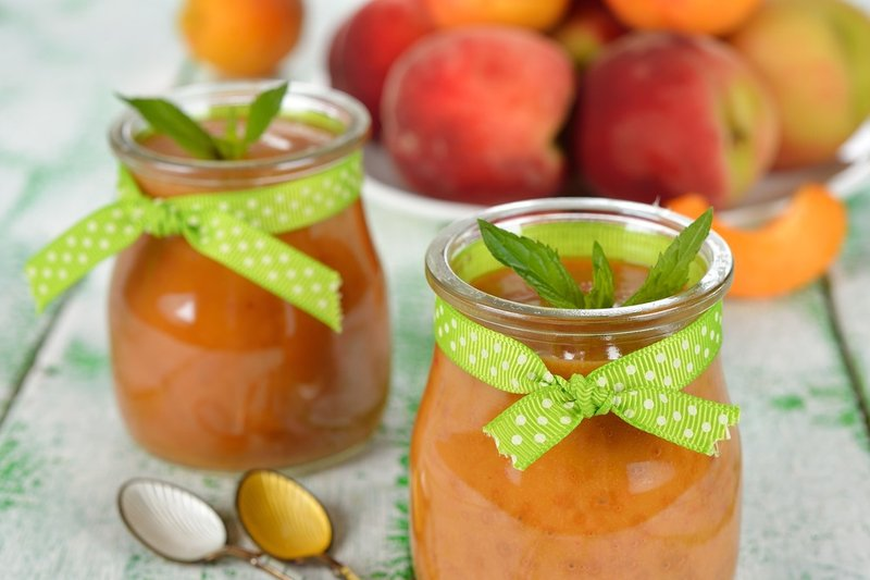 resep puree peach