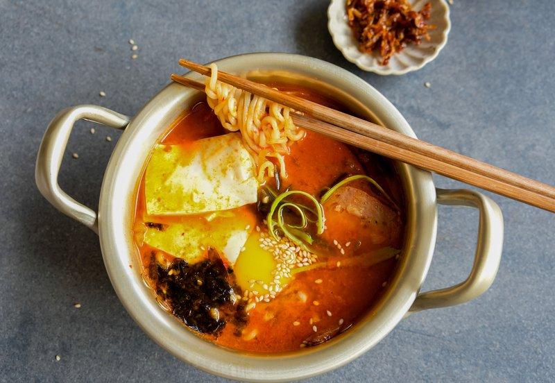 resep kimchi ramyun