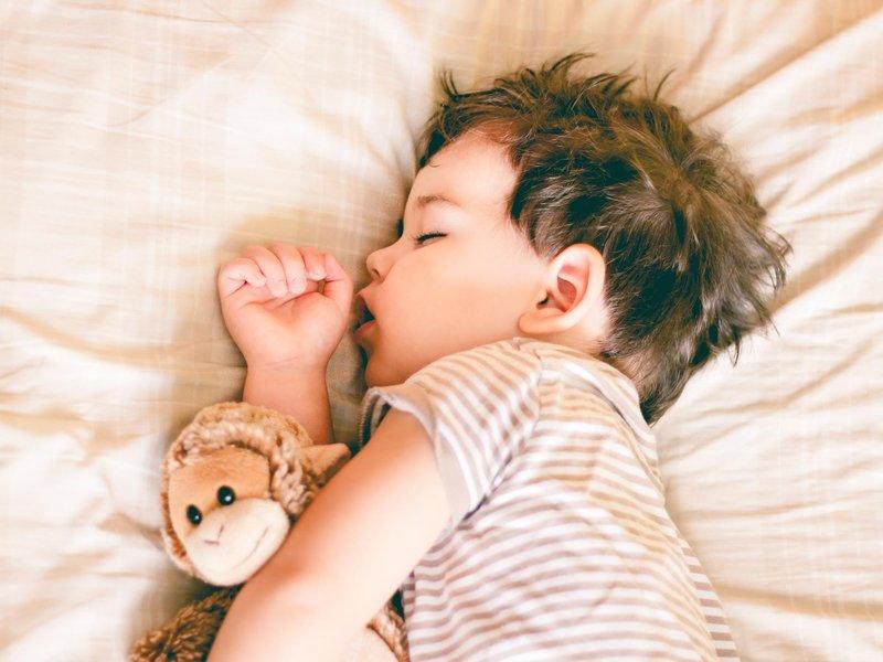 sleeping kid 2