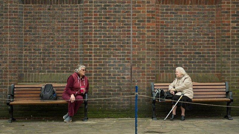 social distancing, Jarak Aman Social Distancing