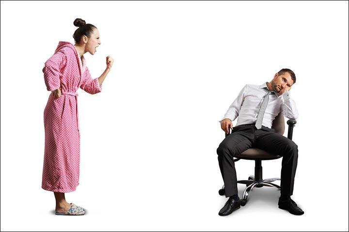 suami terlihat malas dalam rumah tangga cover