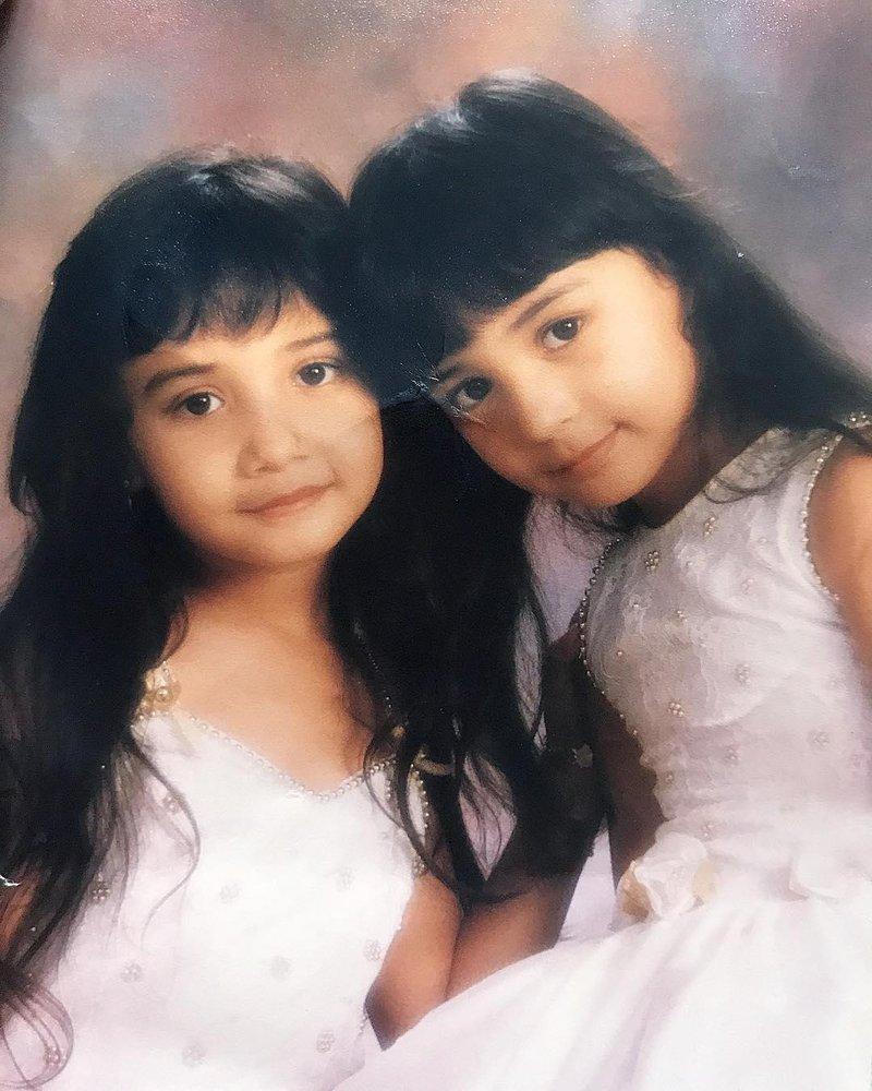 sudah cantik sejak kecil
