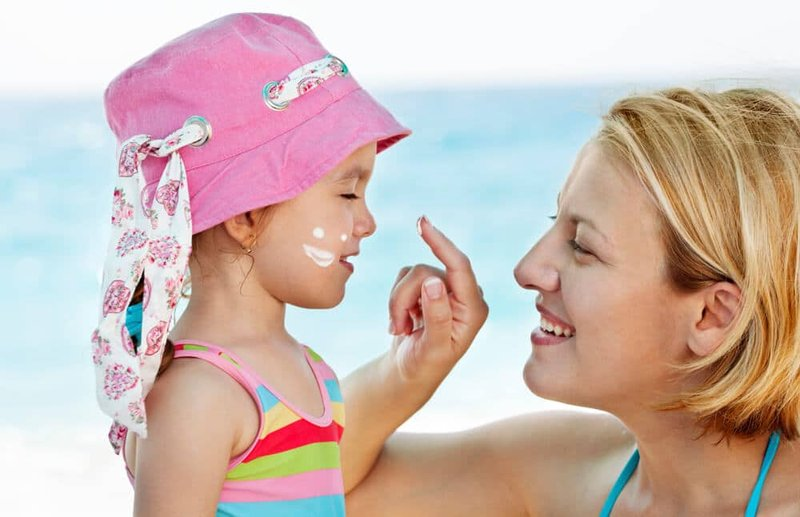 sunblock wajah untuk anak