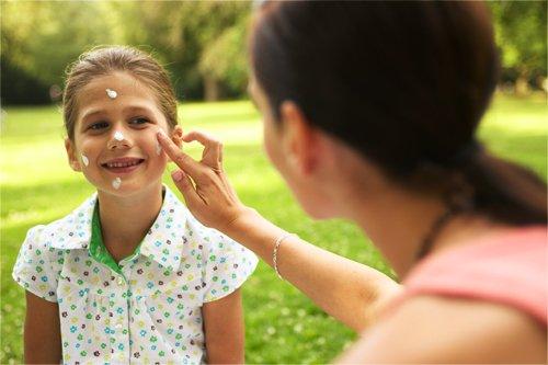 sunscreen pada anak