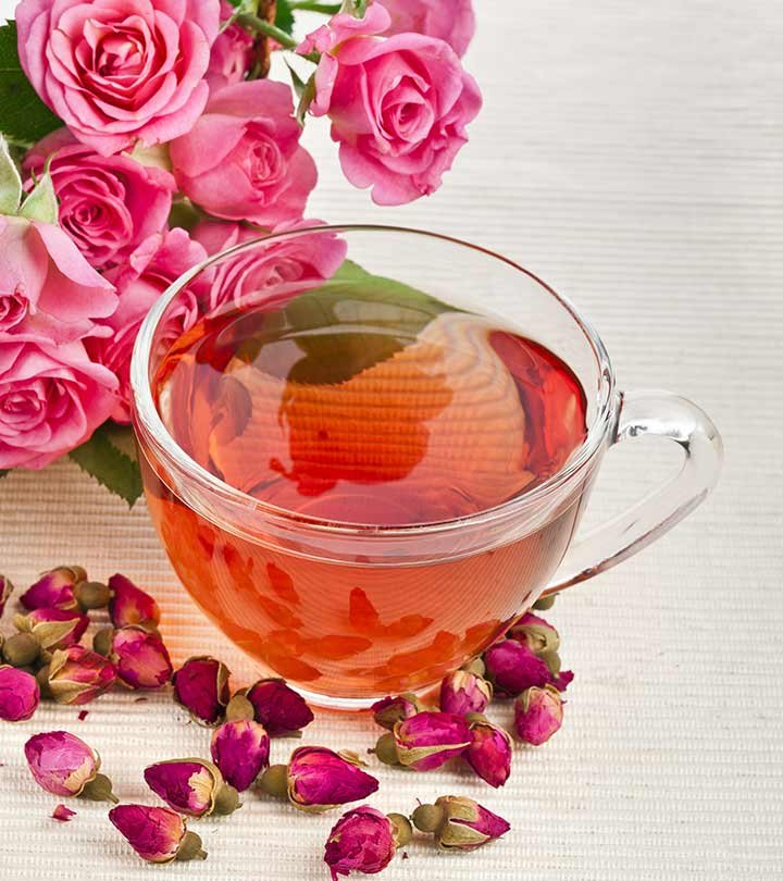 teh mawar, manfaat teh mawar