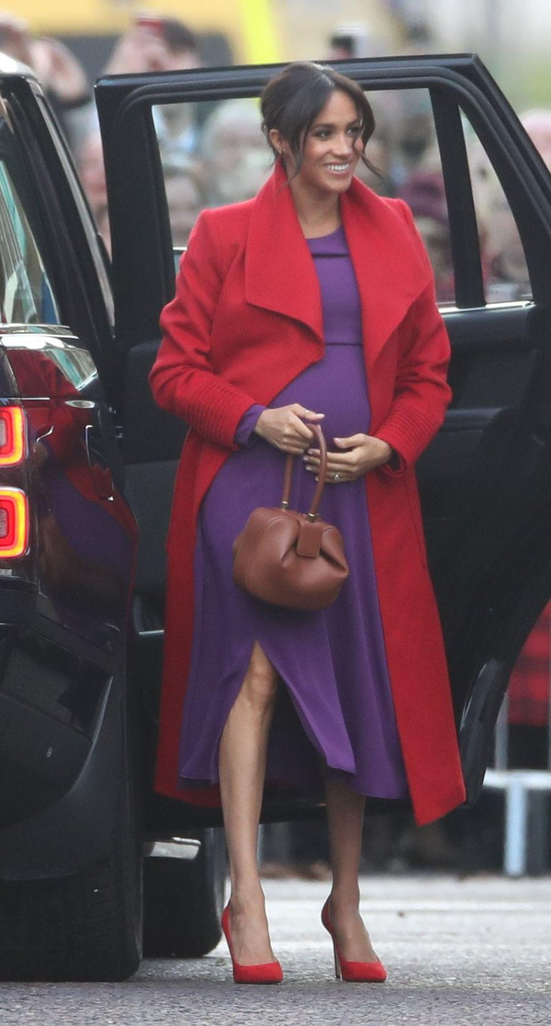 the duchess of sussex arrives in hamilton square during a news photo 1082174428 1547464213
