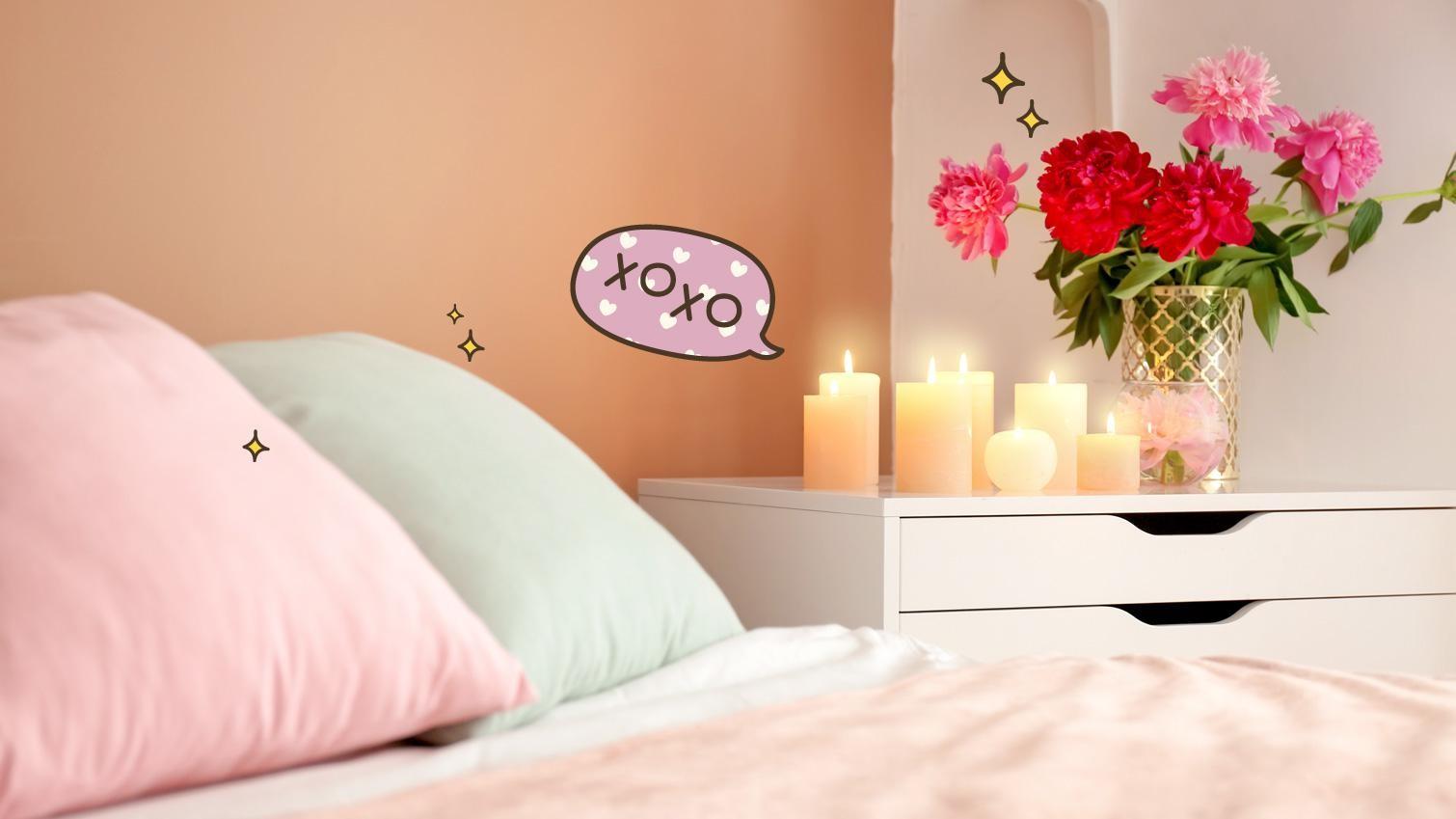 4 tips mudah mendekorasi kamar tidur romantis berbagi for Dekor kamar hotel buat ulang tahun