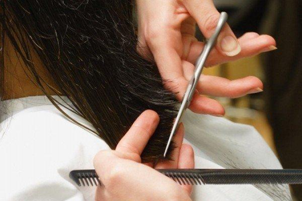 trim rambut di rumah