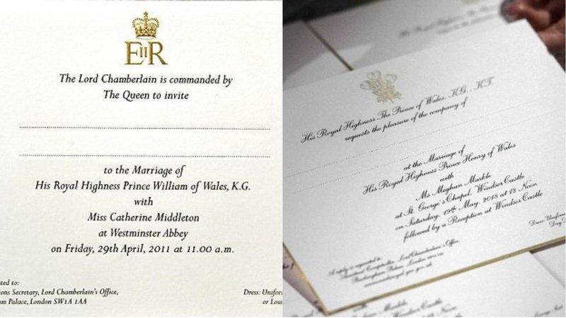 undangan royal wedding