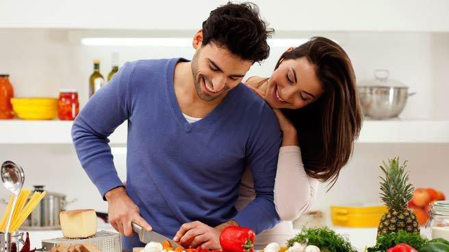memasak bersama untuk Valentine