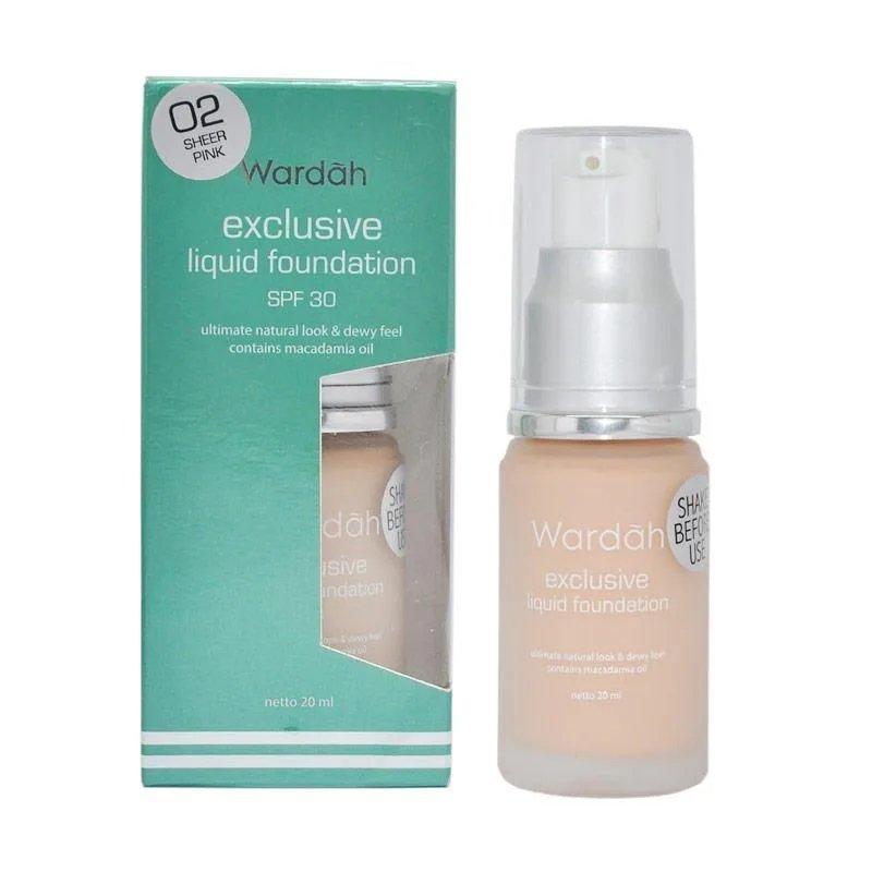 wardah liquid foundation