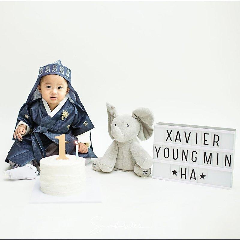 Gemasnya Anak Rini Yulianti Rayakan Ulang Tahun Pertama dengan Tradisi Korea